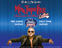 Mixx Tape Live & Alex Sensation