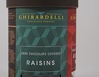 Ghirardelli Rebrand & Package Design