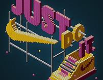 Nike typography
