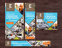 Banner Design Concept for EastMain Apartments