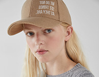 Caps for AW18 for Bershka Collection