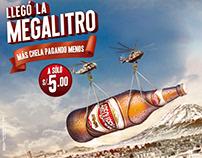 Panel Megalitro - Cerveza Arequipeña -ATL