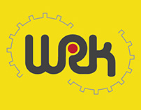 WRK // Logo & stationery design