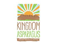 Kingdom Asparagus Logo Design