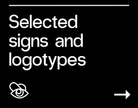 Selected signs and logotypes