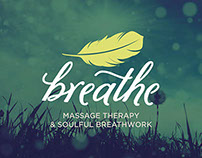 Breathe Massage Therapy Identity