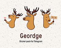 "Sticker pack ""Geordge"""