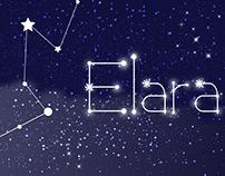 Elara typeface