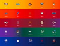 College Logos Organized - II