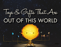 Clark Planetarium Gift Store Holiday Campaign