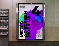 Metro Ad Screen Mock-Ups 8 (v.5)