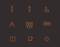 Museum Wayfinding Icons