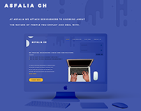 Asfalia for Verification UI/UX web