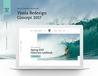 Vissla Redesign Concept