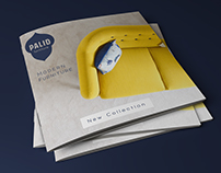 """Palid"" Furniture Catalogue design concept"