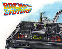 DMC DeLorean - Back to the Future