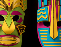 Paper Masks (XFACTOR 13)