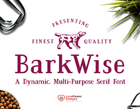 BarkWise - Multi-Purpose Serif Font