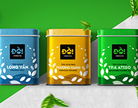Đồi - Coffee & Tea | Brand Identity and Packaging