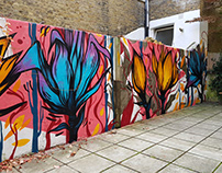 House wall in Brixton (fall)