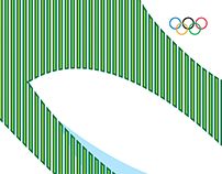 Poster design based on Rio 2016 Olympics Venues