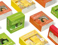 WELEDA SET PACKAGE DESIGN PROJECT for OLIVE YOUNG