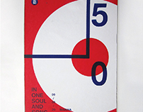 SG50 Swiss-style Typographic Poster (June 2014)