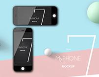 MyPhone 7 MOCKUP