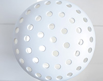 Mushroom ceramic heater