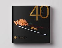 40th Anniversary Book Design