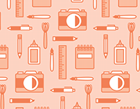 Tools of Art Wallpaper