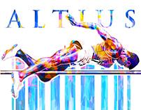 """""""ALTIUS"""" (Higher) Charlie Dumas Poster"""