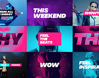 Dynamic Opener / After Effects Template