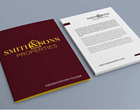Smith and Sons Logo and Brand Identity