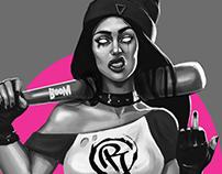 Concept art Bad Girl