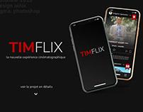 TIMFLIX - application fictive
