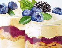 Dr. Oetker's vanilla dessert.