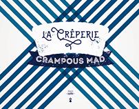 LA CRÊPERIE - CRAMPOUS MAD - IDENTITY