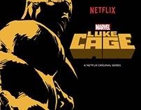 Luke Cage Tribute Celebrating Netflix's New Series