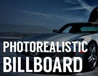 Photorealistic Billboard PSD (FREE)