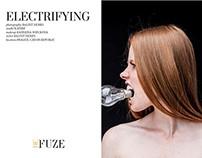 ELECTRIFYING - deFUZE MAGAZINE by Balint Nemes