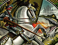 Saint George and the Dragon Illustrated by Steven Noble