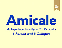 Amicale Typeface