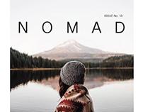 NOMAD || magazine spread ||