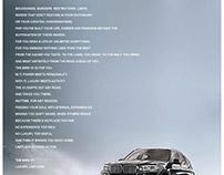 BMW X5 Pitch Camapign