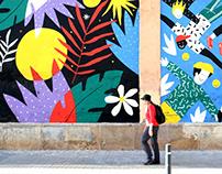 Mural / Festival Ús BCN