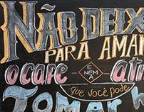 chalkboard lettering