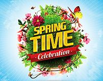 Spring & Summer PSD Logos