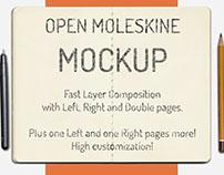 Moleskine® MockUP Freedownload