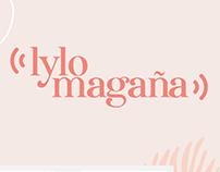 logotipo para Lylo Magaña Locutora